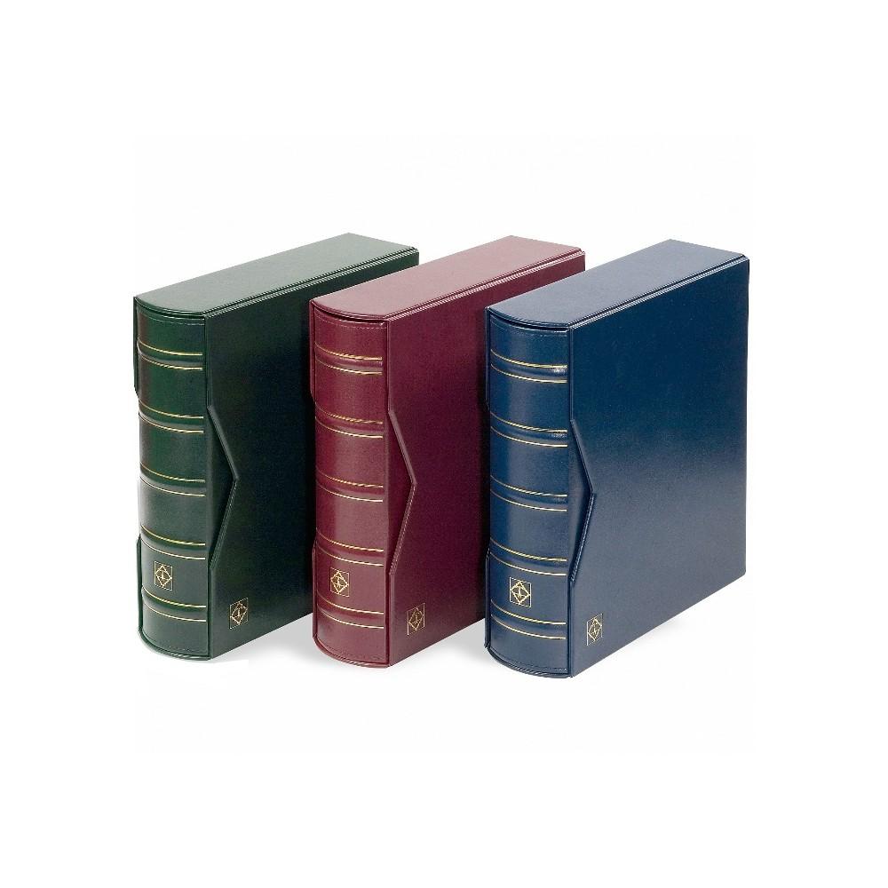 Leuchtturm albums voor FDC's en ansichtkaarten DL incl. opbergcassette