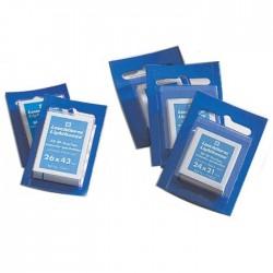 Leuchtturm klemstroken glashelder 21,5x26 mm (bxh) blauwe verpakking