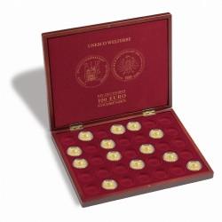 """Muntencassette voor 35 Duitse gouden 100-euromunten """"UNESCO Werelderfgoed"""""""