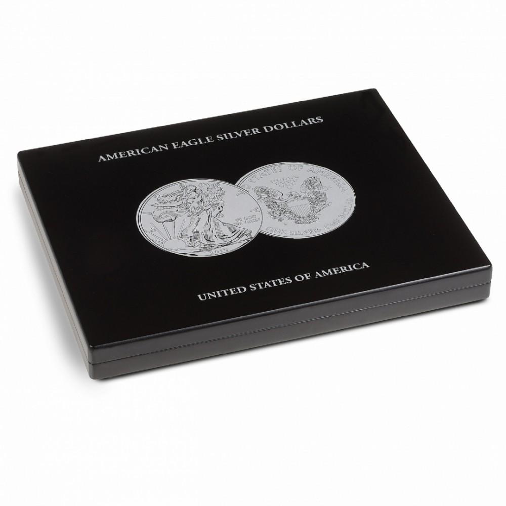 Muntencassette 1 oz. ''American Eagle'' Zilver