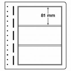 LB bladen 3 vaks (LB 3) 190X 81mm 10 bladen