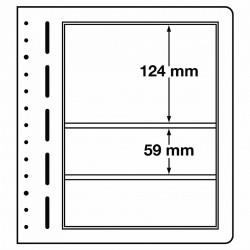 LB bladen 3 vaks (LB 3 mix) 190X124mm, 190x59 mm 10 bladen