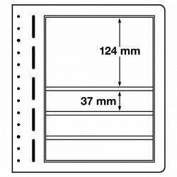 LB bladen 4 vaks (LB 4 mix) 190x37mm, 190x124mm 10 bladen