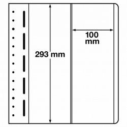 LB bladen 2 vaks (LB 2VERT.) 100X293mm 10 bladen