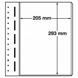 LB bladen 1 vak (LB 1 MAX) 205X293mm 10 bladen