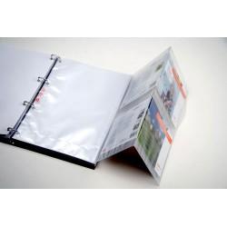 Davo Postzegelmapjes drieluikbladen