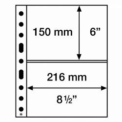 Leuchtturm aanvullingsbladen voor A5 documenten (SH312-2C) 50 stuks