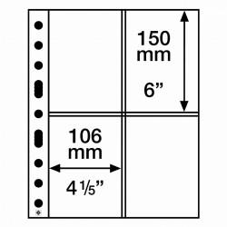 Leuchtturm aanvullingsbladen voor ansichtkaarten (SH312-2CT) 50 stuks