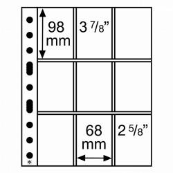 Leuchtturm aanvullingsbladen voor speelkaarten (SH312-3/3C) 50 stuks