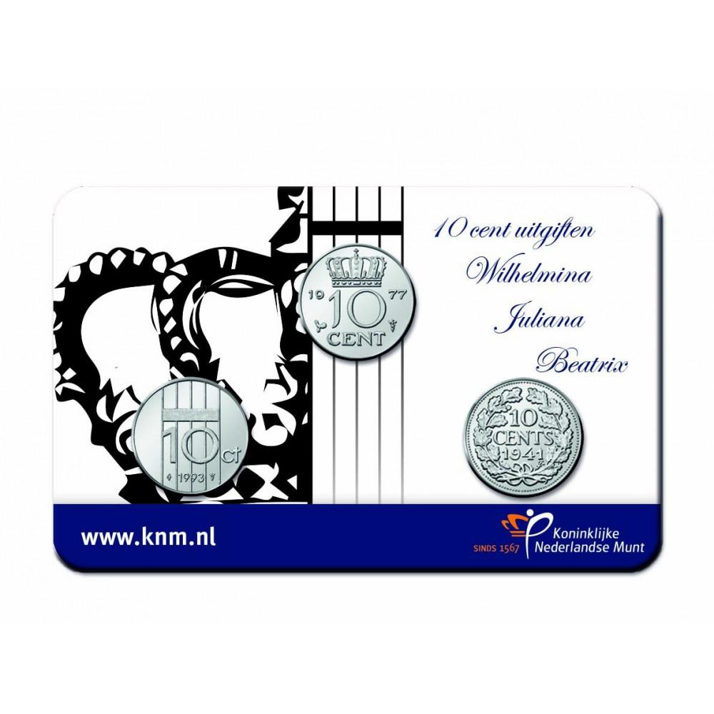'Ode aan het Dubbeltje' Penning 2018 in coincard
