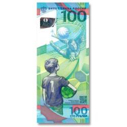Russia 100 Rubles 2018