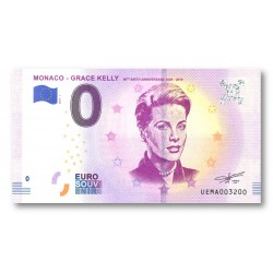 "0 euro Monaco 2018 - ""Grace Kelly"""