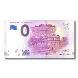0 euro Malta 2019 - 'Mdina'