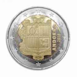Andorra 2 euro 2018 'Wapen van Andorra' circulatiemunt