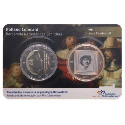 Holland Coincard 2019 Rembrandt