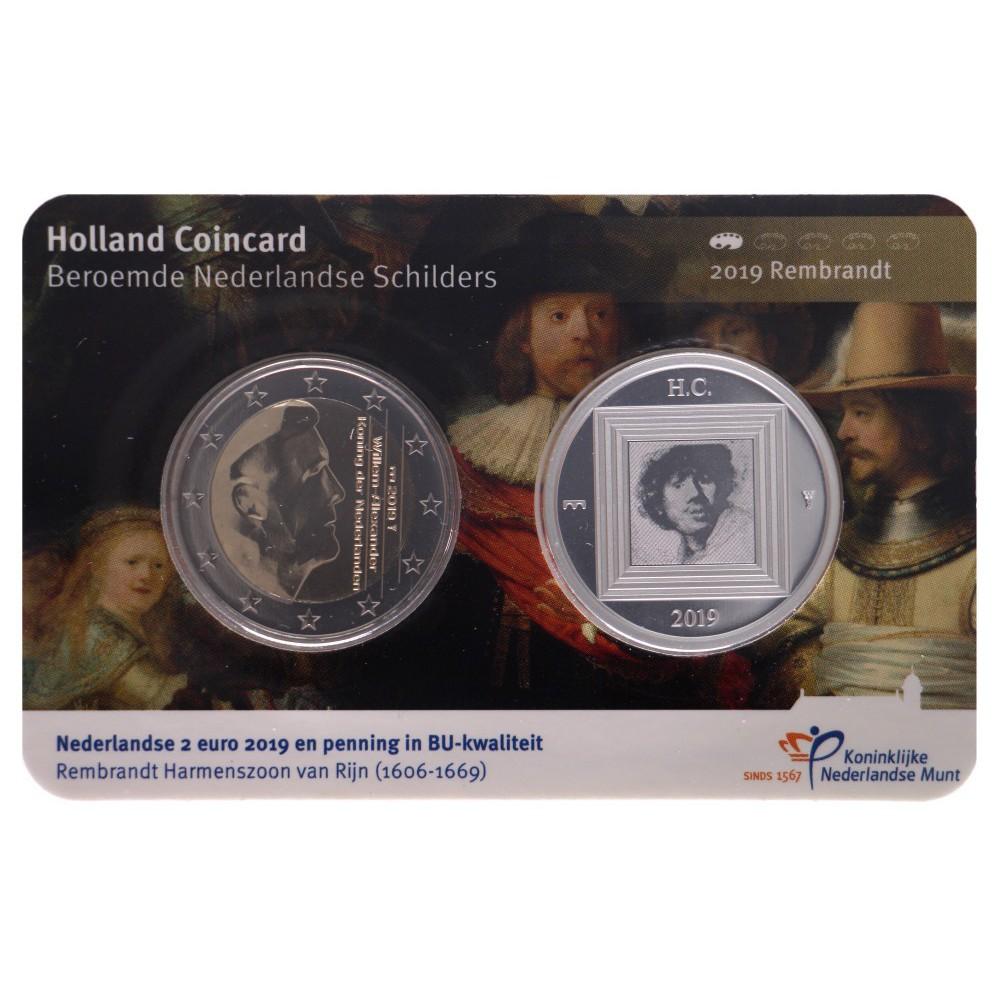 Holland Coincard 2019 Rembrandt