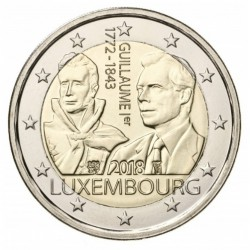 Luxemburg 2 euro 2018 'Willem I'