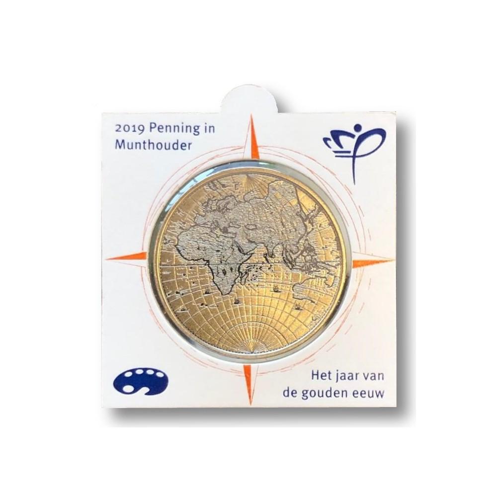 Nederland officiële munthouder 2019 'Het jaar van de gouden eeuw' max. 1 per klant
