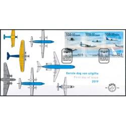 2019 Nederland FDC | 100 jaar luchtvaart