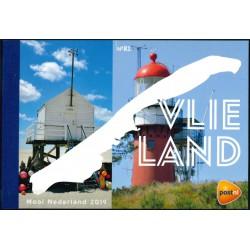 2019 Nederland Prestigeboekje | Mooi Nederland Vlieland