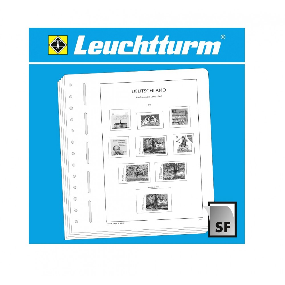 """Leuchtturm luxe supplement Duitsland '18 """"Gezamenlijke uitgiften"""""""