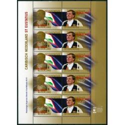 2015 Caribisch Nederland Vel | Koningspostzegels St. Eustatius