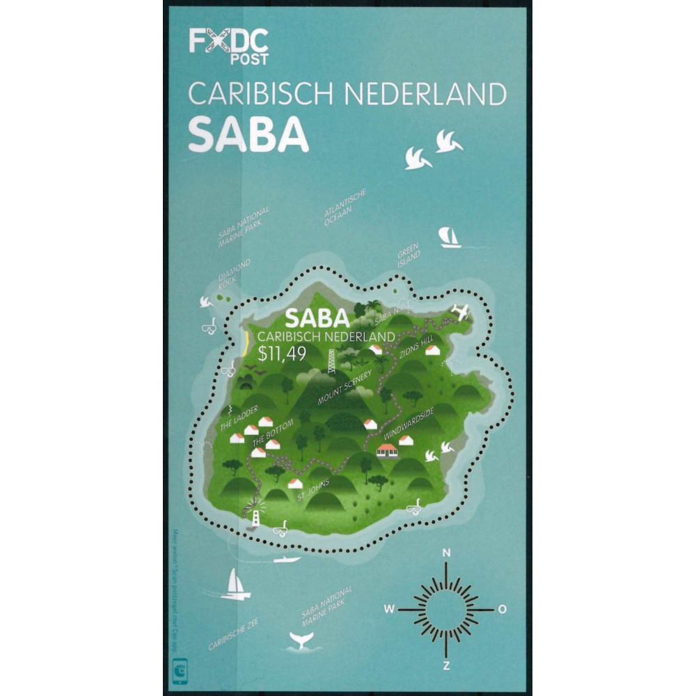 2016 Caribisch Nederland Blok | Eiland Saba