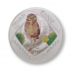 Aruba 5 florin zilver 2012 'Shoco'