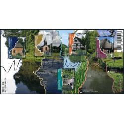 2017 Nederland blok mooi Nederland | Verzamelvel