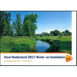 2017 Nederland postzegelmapje | Mooi Nederland 2017