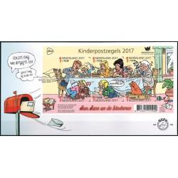 2017 Nederland FDC | Kinderpostzegels