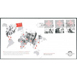 2017 Nederland FDC | 150 jaar Rode Kruis