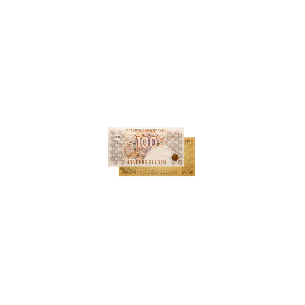 Nederland 100 Gulden 1992 'Steenuil' Gouden combinatie!