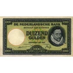 Nederland 1000 gulden 1945 'Willem van Oranje'