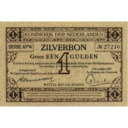 Nederland 1 Gulden 1916