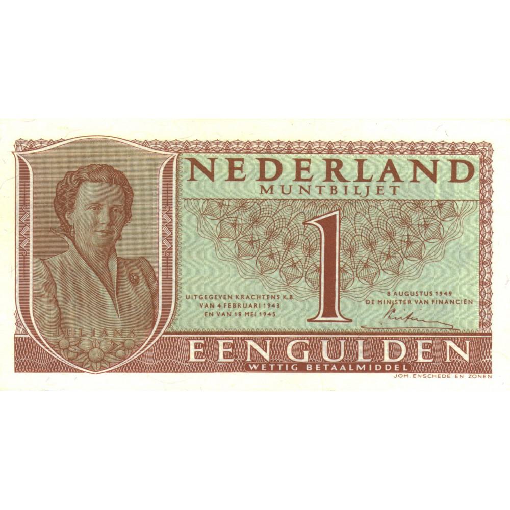 Nederland 1 Gulden 1949 'Juliana'