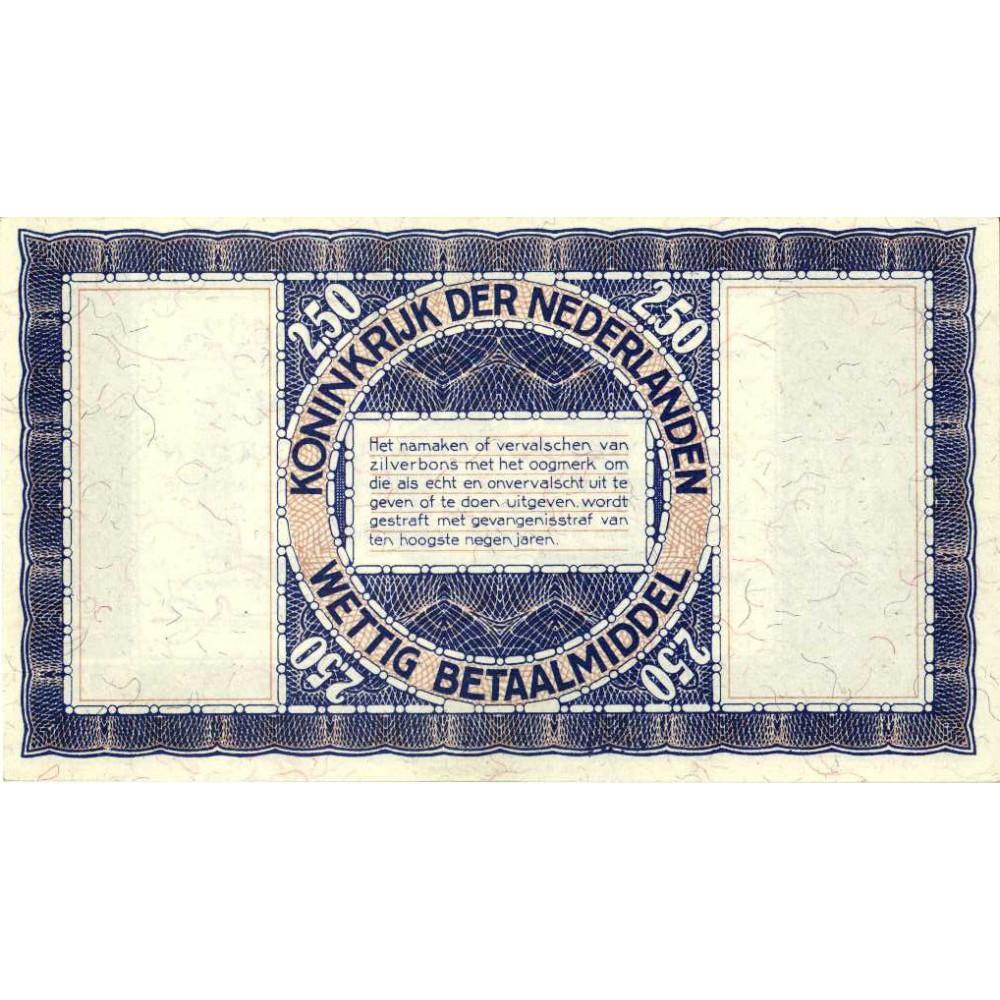 Nederland 2½ Gulden 1938
