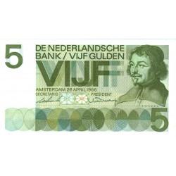 Nederland 5 Gulden 1966  I