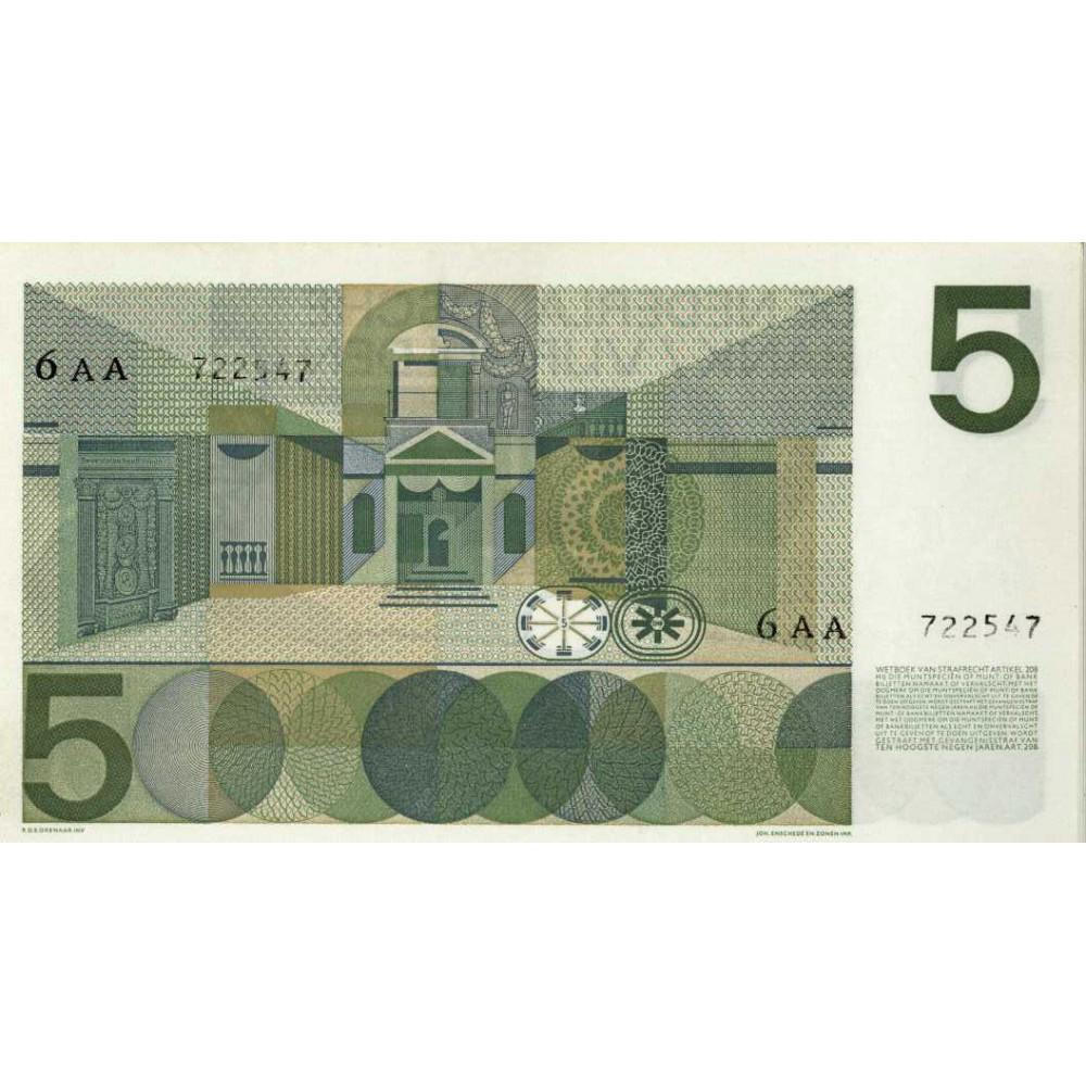 Nederland 5 Gulden 1966 II