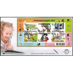 2015 Nederland FDC   Kinderpostzegels