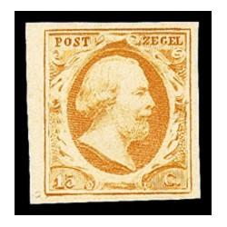 1852 Nederland postzegel | Koning Willem III