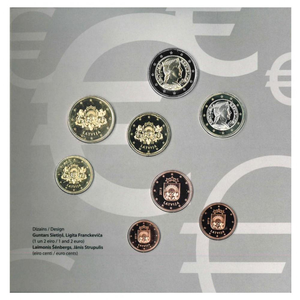Letland BU-Set 2019 '5 jaar euro'