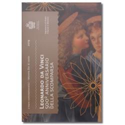 San Marino  2 euro 2019 in blister 'Leonardo Da Vinci'