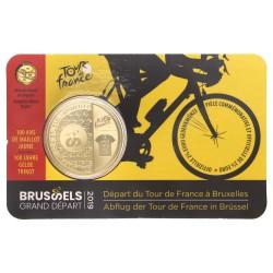 België 2,5 euro 2019' Tour de France' Fr/Du tekst