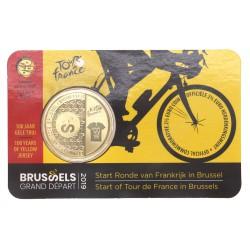 België 2,5 euro 2019 'Tour de France' Ned/Eng tekst