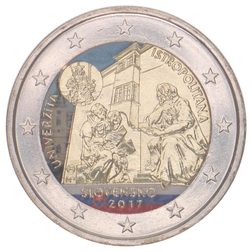 T3 Slowakije 2017 - 2 euro 'Academia Istropolitana'