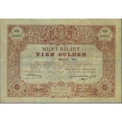 Nederland 10 Gulden 1878