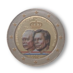 T1 Luxemburg 2014 - 2 euro '50 jaar Jean'