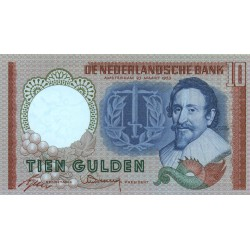 Nederland 10 Gulden 1953 II 'Hugo de Groot'