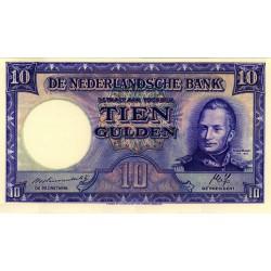 Nederland 10 Gulden 1945 II 'Willem I Staatsmijnen'